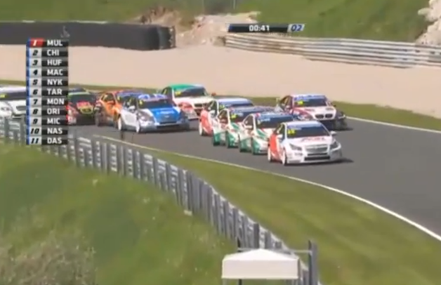 WTCC Salzburgring slow qualifying