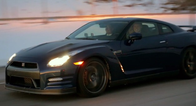  Zach Sobiech driving Nissan GT-R - video screencap