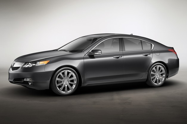 2013 Acura TL Special Edition - front three-quarter view
