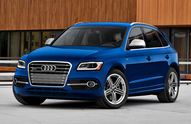 2014 Audi SQ5 - front three-quarter view