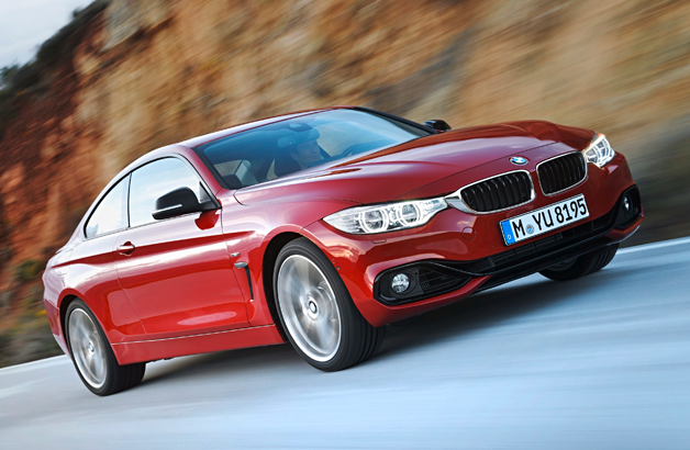 2014 BMW 4 Series Coupe priced from $41,425*