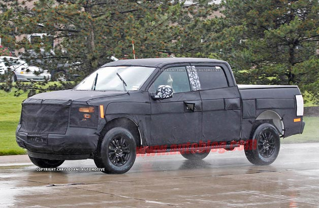 2015 Ford F-150 spy shots