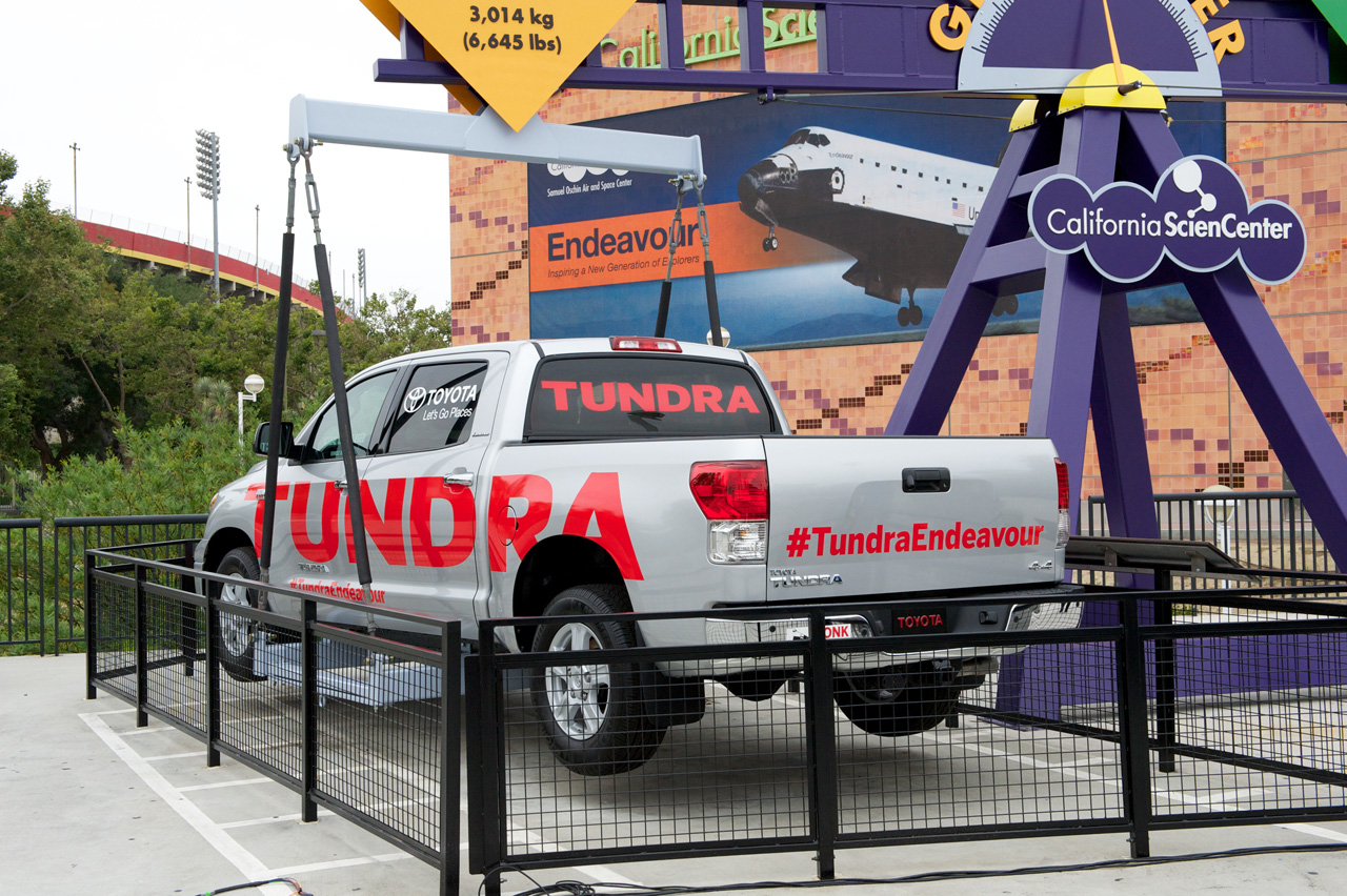 Shuttle Hauling Tundra Finds Permanent Home In Science