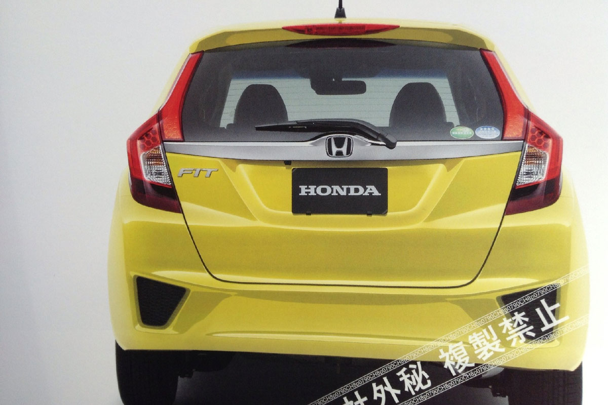2014 Honda Fit/Jazz Leaked Images Photo Gallery - Autoblog