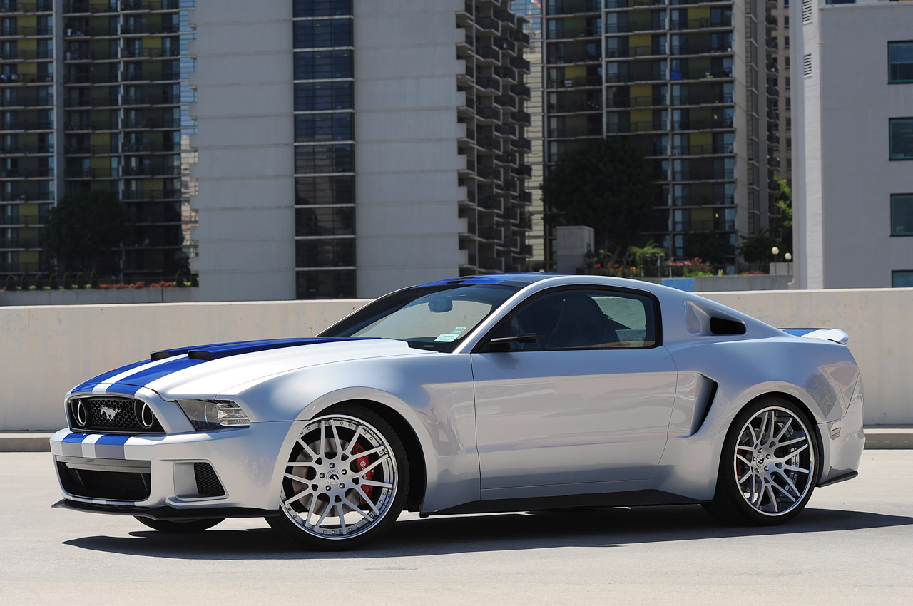 Need For Speed Movie Casts Mustang In Hero Car Role W