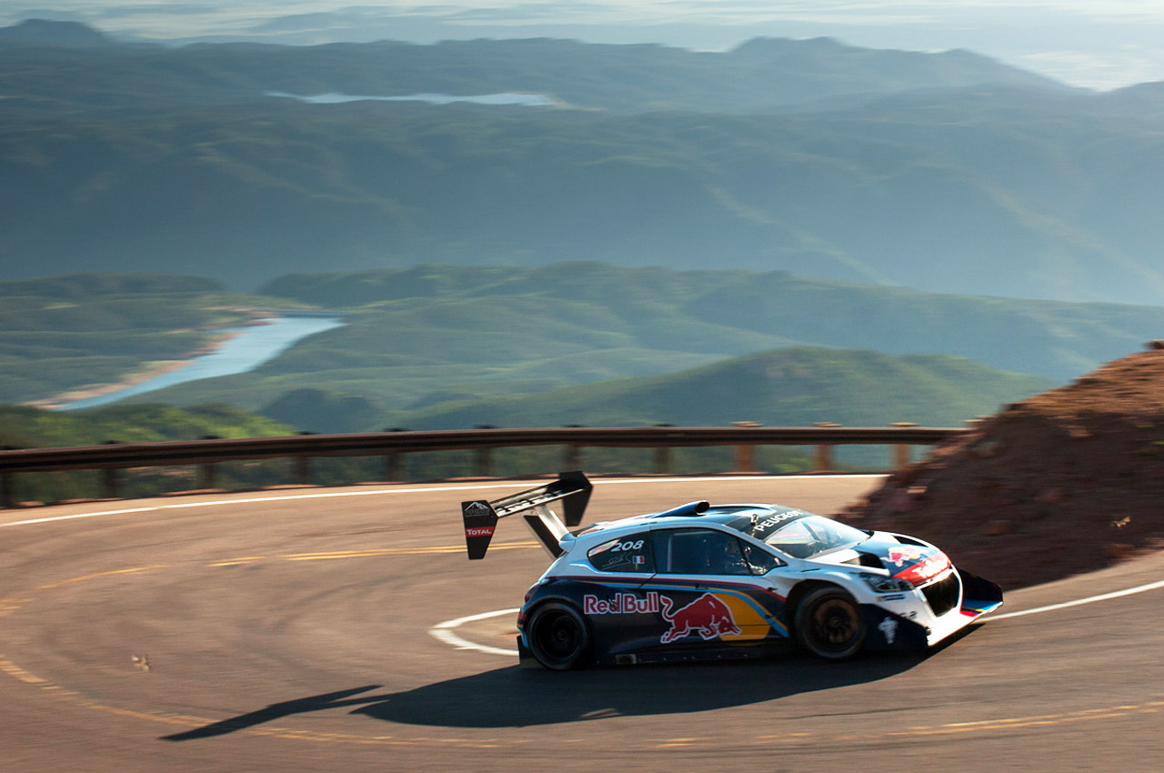 Sebastien Loeb Demolishes Pikes Peak Record With An 8 13