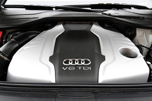 2014 Audi A8 L TDI engine