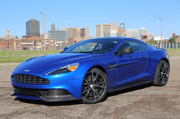 2014 Aston Martin Vanquish - front three-quarter view