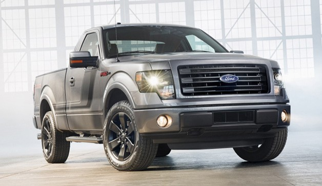 2014 Ford F-150 Tremor - front three-quarter view