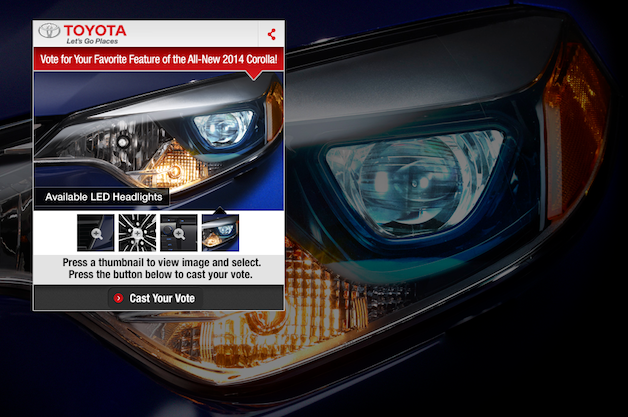 2014 Toyota Corolla coming Thursday, now with LED headlamps