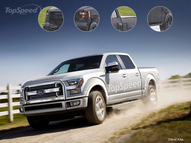 2015 Ford F-150 rendering
