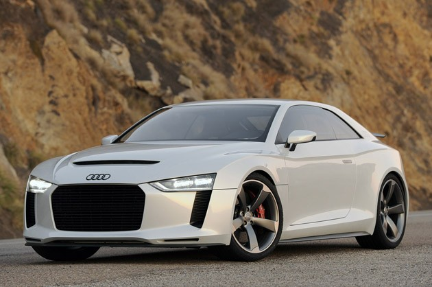 Audi Quattro Coupe Concept - front three-quarter view