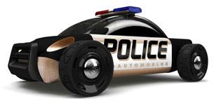 Automoblox Emergency Line police car