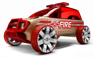 Automoblox Emergency Line fire rescue SUV