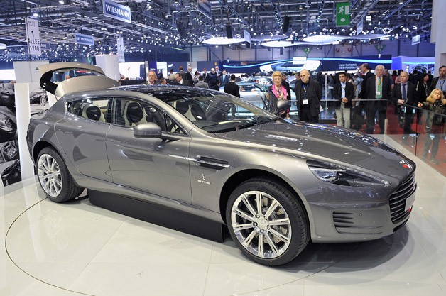 Aston Martin Rapide station wagon one-off as seen in the Bertone Jet 2+2 concept - Live reveal at 2013 Geneva Motor Show