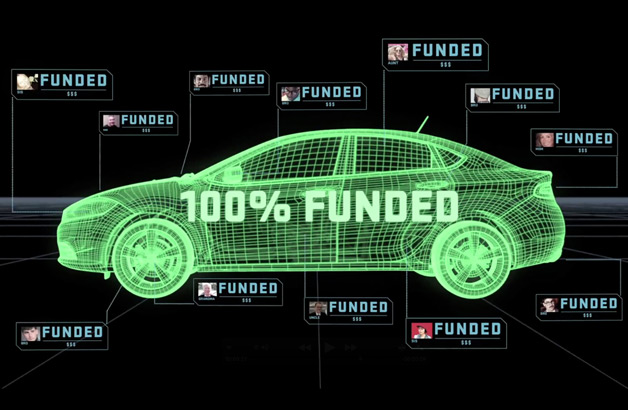 Dodge Dart crowdsource funding graphic