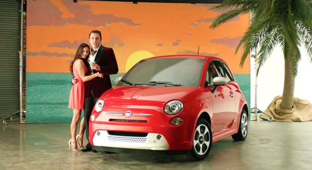 Fiat 500e EnvironmentallySexy.com ad