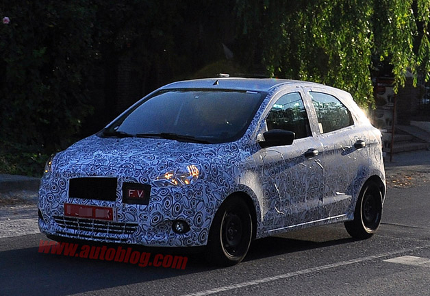 Small Mystery Ford Spy Shots