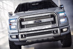 Ford Atlas Concept - dead on front end closeup