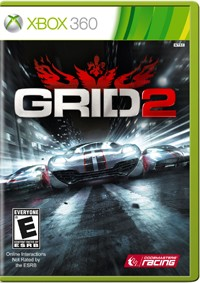 Grid 2 for XBox 360 - commercial packaging