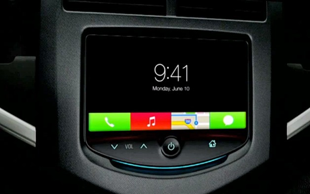 Apple iOs for the Car - video screencap