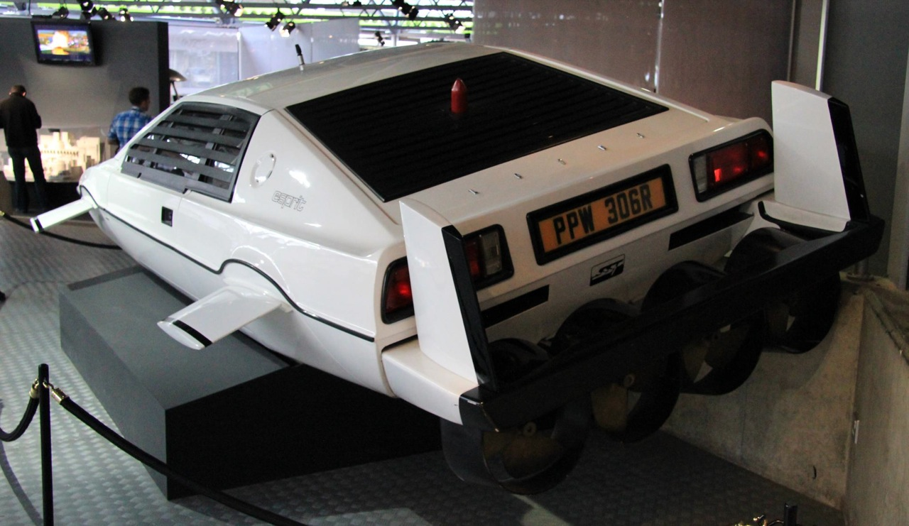 James Bond Lotus Esprit Submarine Car Headed To Auction W