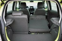 2013 Chevrolet Spark rear cargo area