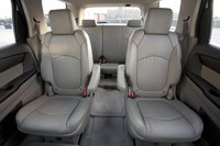 2013 GMC Acadia Denali rear seats