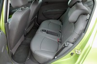 2013 Chevrolet Spark rear seats
