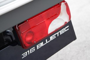 2014 Mercedes-Benz Sprinter taillight