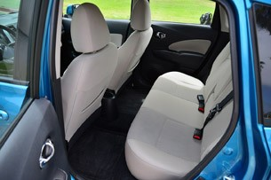 2014 Nissan Versa Note rear seats