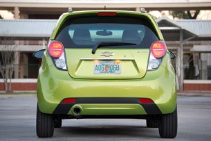 2013 Chevrolet Spark rear view