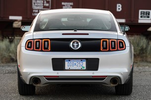 2013 Ford Mustang V6 rear view