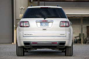 2013 GMC Acadia Denali rear view