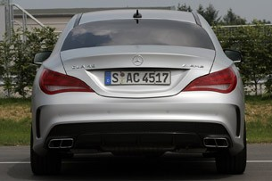 2014 Mercedes-Benz CLA45 AMG rear view