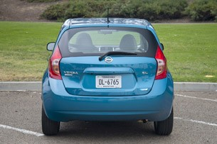 2014 Nissan Versa Note rear view