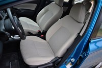 2014 Nissan Versa Note front seats