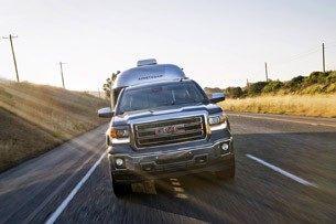 2014 GMC Sierra towing