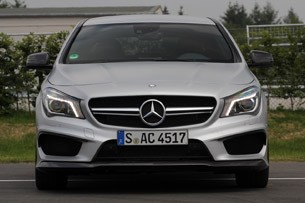 2014 Mercedes-Benz CLA45 AMG front view