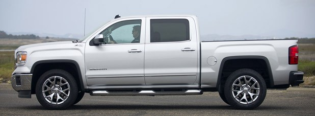 2014 GMC Sierra side view