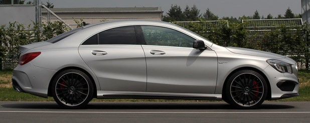 2014 Mercedes-Benz CLA45 AMG side view