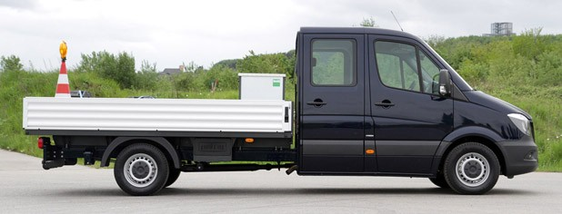 2014 Mercedes-Benz Sprinter side view
