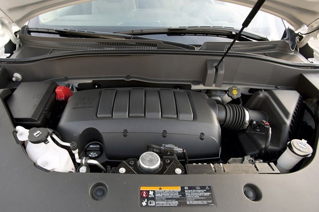 2013 GMC Acadia Denali engine