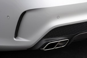 2014 Mercedes-Benz CLA45 AMG rear fascia