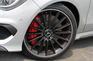 2014 Mercedes-Benz CLA45 AMG wheel
