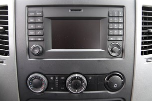 2014 Mercedes-Benz Sprinter instrument panel
