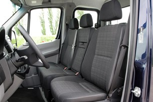 2014 Mercedes-Benz Sprinter front seats