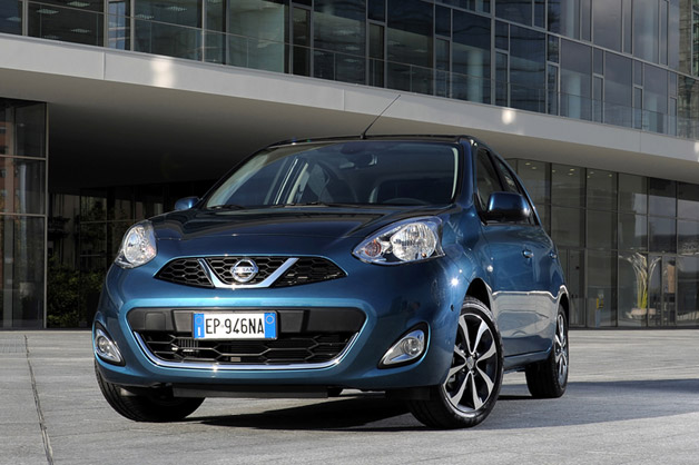 New Nissan Micra - front three-quarter view