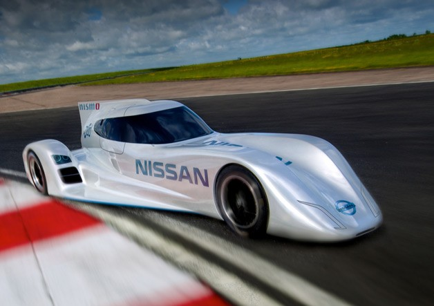 Nissan ZEOD RC Le Mans prototype - front three-quarter dynamic view