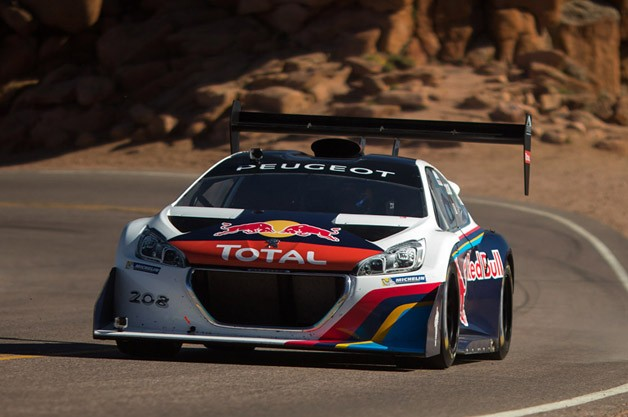 sebastien loeb demolishes pikes peak record with an 8 update w video. Black Bedroom Furniture Sets. Home Design Ideas